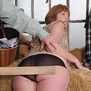 Surprising missy gets her keister punished