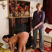 Salacious quean gets harsh spanks on her tush