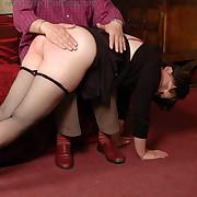 Charming femme gets her fannies spanked