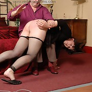 Charming femme gets her fannies spanked