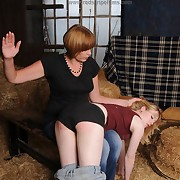 Smutty woman gets her seat flogged
