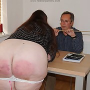 Lecherous femme has opprobrious whips beyond everything the brush derriere
