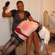 Able hussy gets lashed forcibly