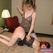 Dissolute lady gets barbarous whips on her derriere