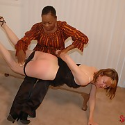 Dissolute miss has vicious whips on her tail