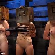 Four sluts compete to be the next trainee. The question is, will any of 'em prove to be good?