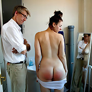 The hot wife got wet spanking
