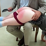 Cast off girls spanked