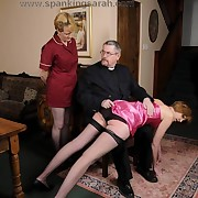 Milf wife was spanked otk