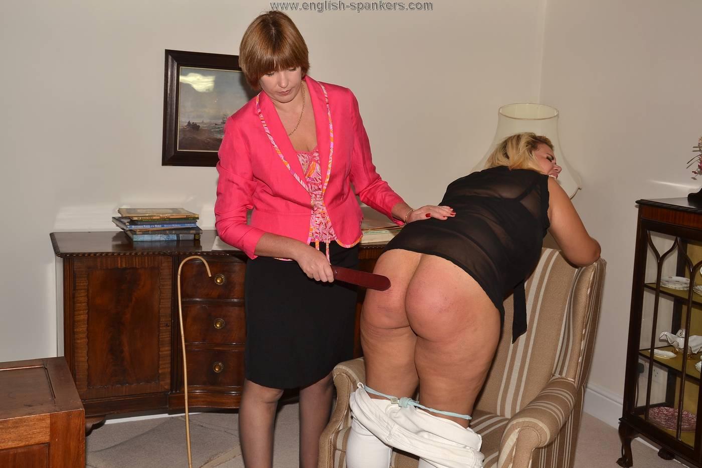 mature women who spank and punish