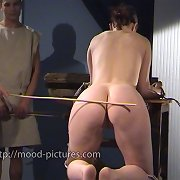 Hot babe was brutally spanked in the dungeon