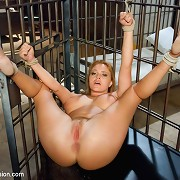Business Woman Arrested, bound Up, Dominated and ass drilled in Jail!