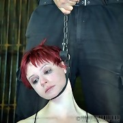 Contorted Claire Adams has a little reward