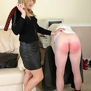 Man got spanked in the office