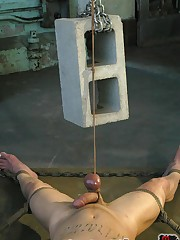 Male slave punished
