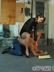 Mistress humiliated bad boy