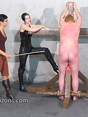 Man got punished hard