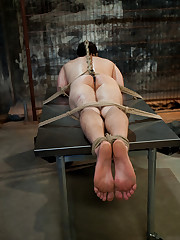 There are sexual experiments with lots of slaves.