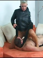 Foot and oral slave training with Kahti