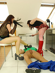Maddest femdom carnal knowledge with a plumber and 2 teens
