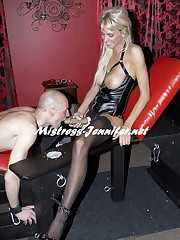 Nice and Tight - tall blonde domination