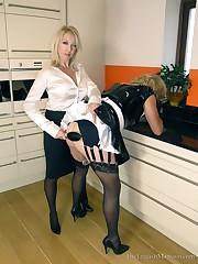 Lazy Maid Punished