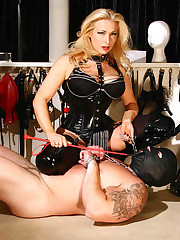 Uk Mistress trampled slaveboy