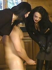 Slave licking spit