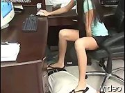 Office foot slave