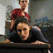 Bitch spanked hard