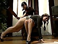 Tiger is caned, clamped and made to cum multiple times at the hand