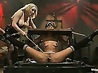 Lyla can handle being tied legs above her head, whipped, caned