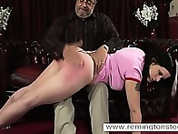 Hot chick was punished