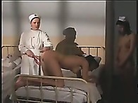 2 pretty nurses are spanked and humiliated in hospital