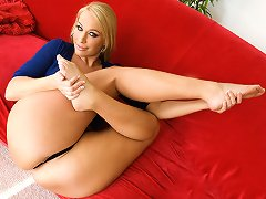 Melanie Monroe stops by today to give us a little foot action