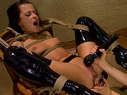 Maid is disciplined with electrotorture via remote control.