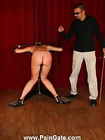 Blonde neonate punished coupled with humiliated