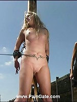 Injurious outdoor whipping