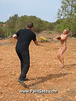 Severe open-air whipping