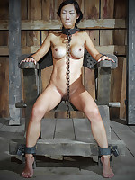 Asian submissive subjected to humiliation and torment