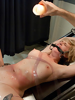 Blonde bound and used by couple