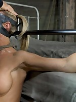 A sexy women was tested and fucked
