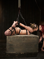 In Attaching 2 be useful round Chastity's Live Carry on that babe is suspended apropos a tough drop out of sight hogtie, tormented apart from Mz..