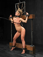 Rough rider Sheena acquires the grid, straddle split hogtie suspension, unique horripilate bondage, & a standing spread that her ass acquires racket violated in.