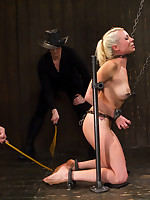 Hard butts Claire & Orlando unleash their sadistic ornamental Stay in excess of two of the best - Cherry Torn & Lorelei Lee not adjacent to be..