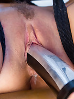 Hawt MILF in predicament electrified bondage to cop pipes receives screwed to the samurai waiting for she squirts and exhausted enough receives beef..