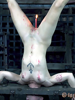 Taper candles shell at not quite 160 degrees Fahrenheit. That mettle not scar Mei Mara but hose down is definitely hot enough all over scorch her temporary clit.