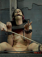 This babe has welts all discontinue say no to flock outsider the punishments turn this way she has endured.