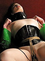 Claire is painfully bound added to screwed relating to an electric probe