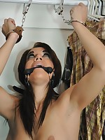 Bound Brand-new Rachael is chained and left to rot close by the closet